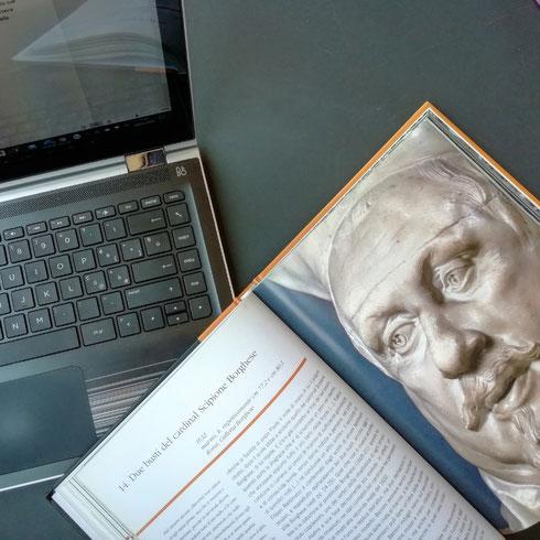 Sarà il ritratto così naturale di Bernini, sarà quel suo essere così appassionato (e spregiudicato) in materia d'arte, ma Scipione Borghese è uno dei miei personaggi preferiti nella Roma del Seicento