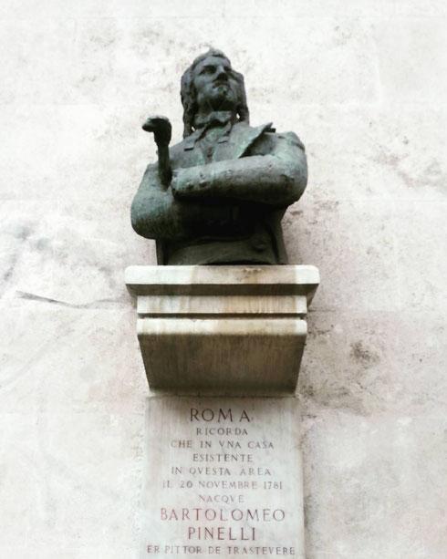 Nessuno meglio di Bartolomeo Pinelli ha saputo raccontare, con le sue stampe e le sue illustrazioni, la Roma popolare...