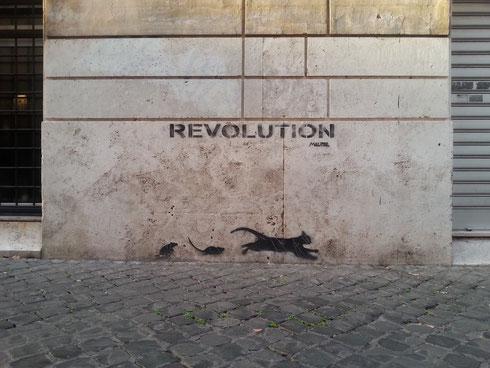 A Borgo si sta evidentemente preparando la rivoluzione...