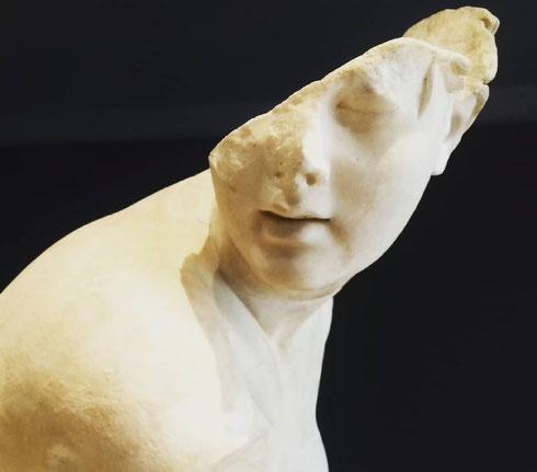 La Venere di Doidalsas, rappresentata mentre si prepara a fare il bagno, divenne nel tempo uno dei modelli più amati dai collezionisti dell'età imperiali