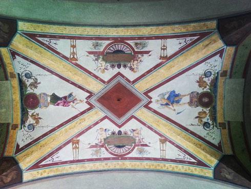 L'accesso alle poste di piazza san Silvestro, ospitate dall'antico convento della chiesa omonima