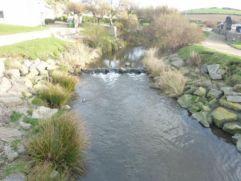 """La rivière la """"Dielette"""""""