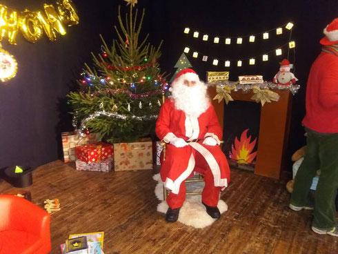 Photo prise sur la page Facebook du marché de Noël de la Bazouge du Désert