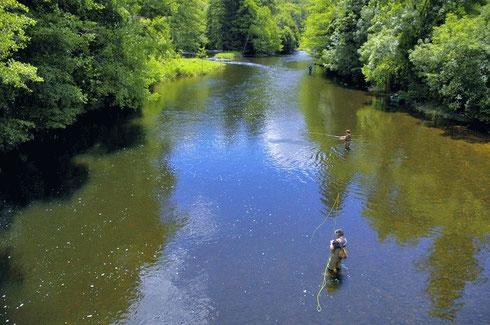 Les rivières de Belle-Isle-en-Terre