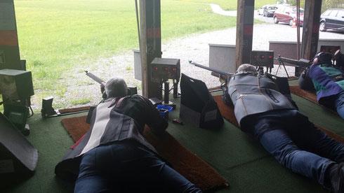 2 Schützen bei der Arbeit