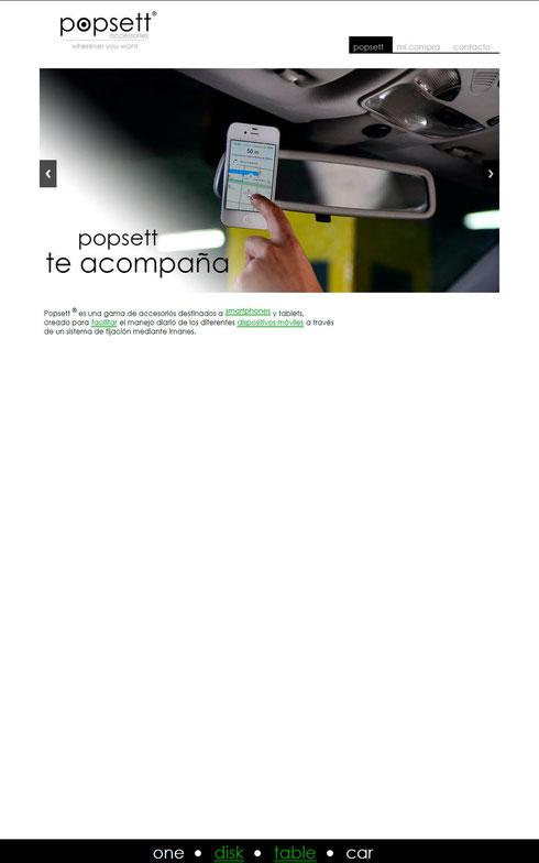 Popsett fabricante y distribuidor de bases para tablets, moviles, smartphones