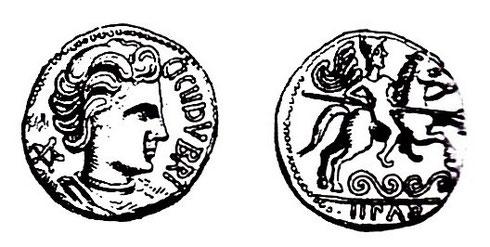 Monnaie type LT XII, 3894, CICIIDV BRI/IIPAD. Crédit: K. Gruel, L. Popovitch.