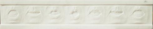 ascolta (listen), statuario marble