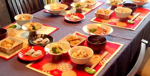 2014 01-02 新年和のお料理レッスン
