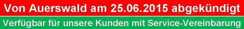Von Auerswald am 25-06.2015 abgekündigt: Auerswald COMpact 4410 USB