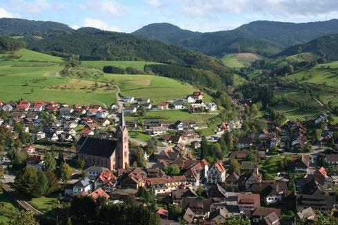 Ortsmitte Oberharmersbach