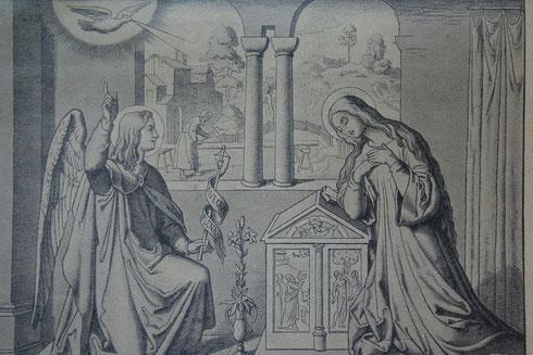 Mariä Verkündigung (Erstes freudenreiches Geheimnis)