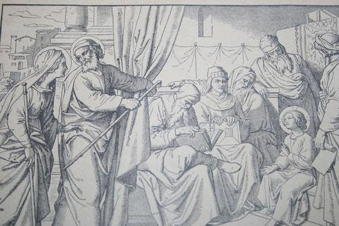 Wiederauffindung Jesu im Tempel (Fünftes freudenreiches Geheimnis)