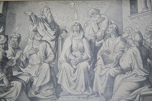 Sendung des Heiligen Geistes (Drittes glorreiches Geheimnis)
