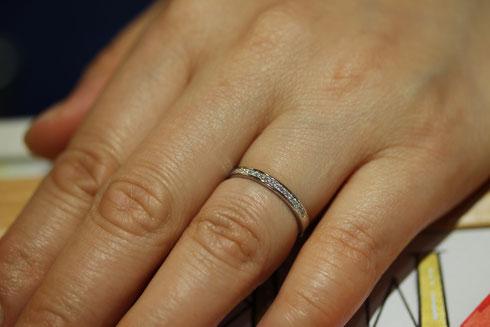 結婚指輪 レディース