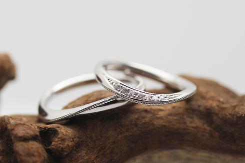 フェリチェ 結婚指輪 花
