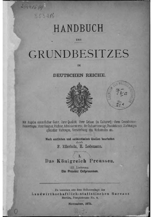 Handbuch Grundbesitz 1879