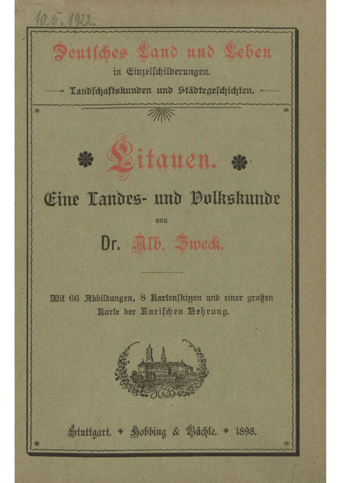 Litauen - Landes- und Volkskunde 1898