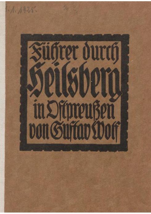 Heilsberg - Stadtführer 1918