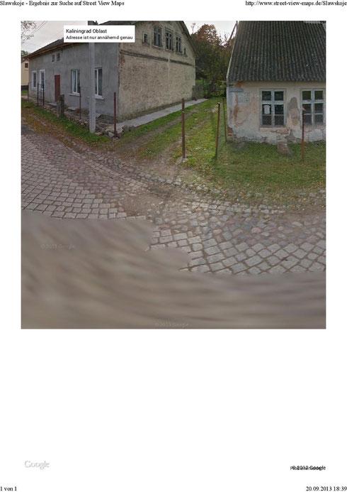 Weg zum alten Friedhof zwischen 212-211