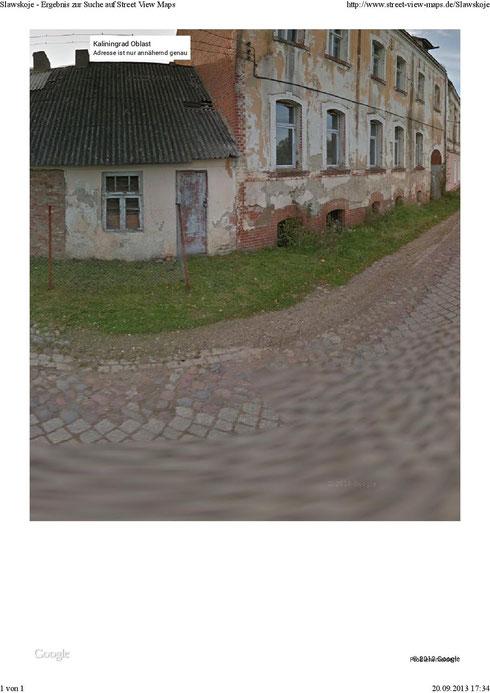 Vorstadt Haus Nr. 210 -alt- neben Gefängnis