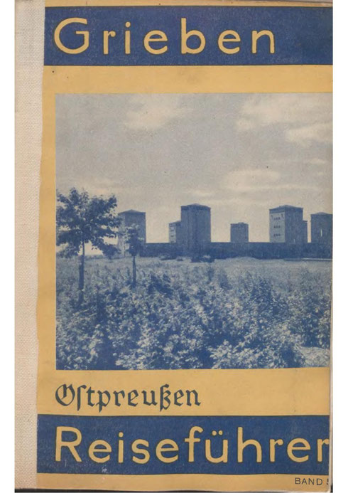 Grieben - Reiseführer für Ostpreußen 1935