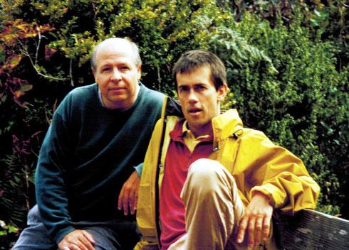 Besuch bei Glen Parton, Schüler von Herbert Marcuse, Sept. 2000 in San Francisco