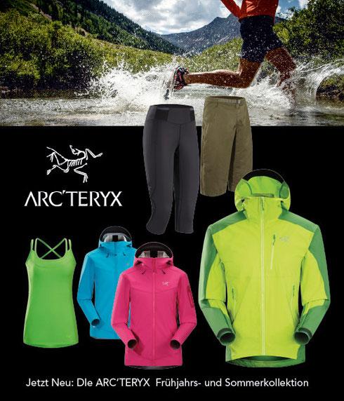 Neu: Arc'teryx Outdoor-Bekleidung