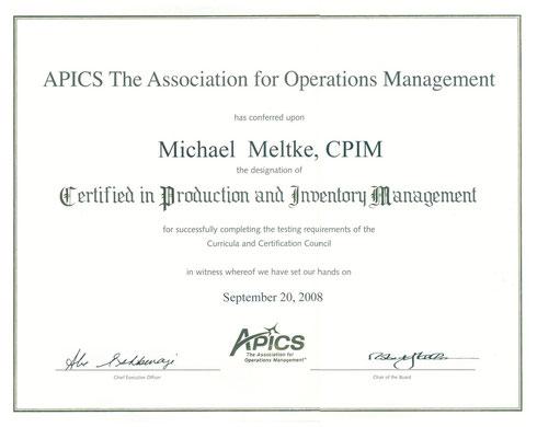 APICS - CPIM