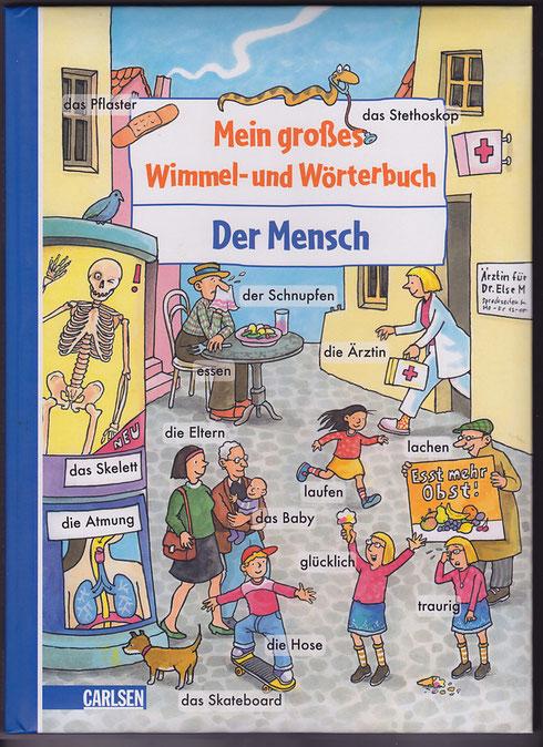 Wimmelwörterbuch Bd.4, Der Mensch 2008