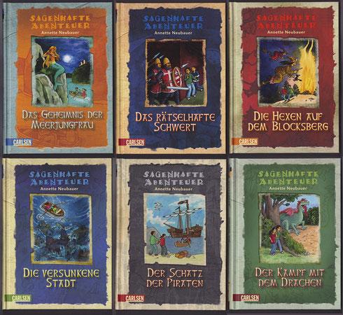 Sagenhafte Abenteuer, 7 Bände 2009-2011