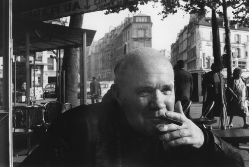 FRANCE. Paris. Jean GENET, French writer. 1963.