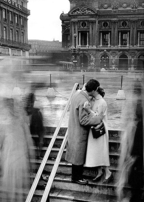Le baiser de l'Opera, Parigi 1950