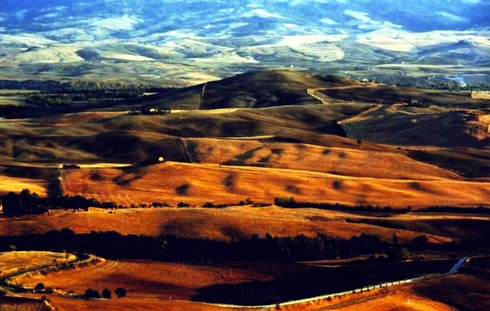 VAL D'ORCIA AUTUNNALE