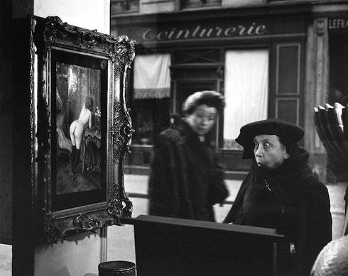 La Dame Indignée, Rue de Seine, Parigi 1948