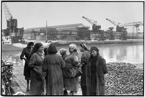FRANCE. Haute-Normandie. Seine-Maritime. Rouen. 1956.