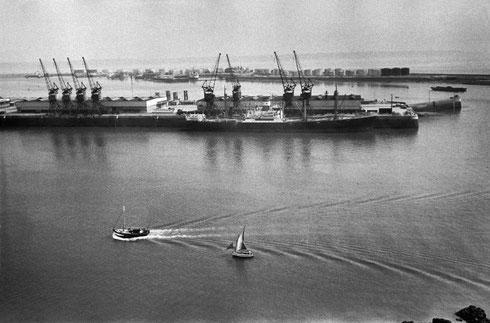 FRANCE. Haute-Normandie. Seine-Maritime. Le Havre. 1955