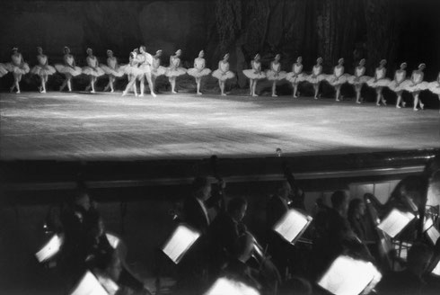 SOVIET UNION. Moscow. Bolchoi Theater. 1954. Swan Lake (ballet by Tchaikowsky)