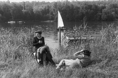 FRANCE. Ile-de-France. Yvelines. Meulan. 1956