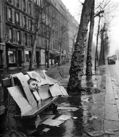La maison de carton, parigi 1957