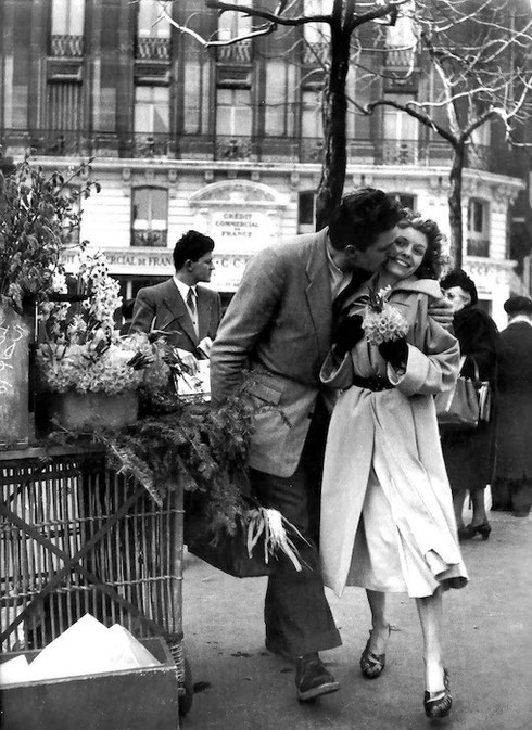 Le Bouquet De Jonquilles, Parigi 1950