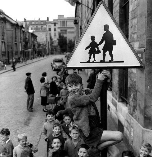 Gli scolari della Rue Damesme, 1956