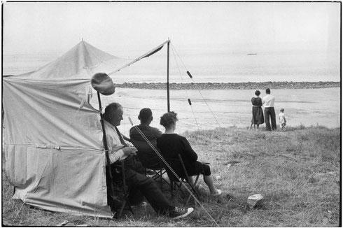 FRANCE. Basse-Normandie. Calvados. Honfleur. 1955