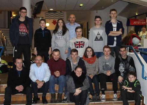 Gruppenfoto nach Abschluss der Meisterschaften