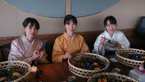 大島紬美術博物館 鶏飯料理 あゆみキモノ学院 奄美大島郷土料理