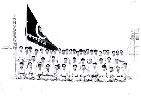 1967年7月 第3回夏季合宿
