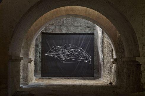 """Franck Pourcel """"Constellations"""", Abbaye de Montmajour © jc Lett"""