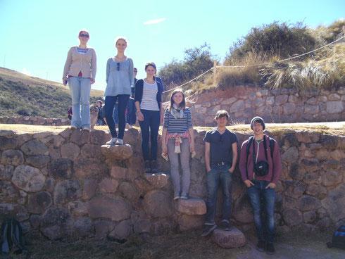 Die Quiquijana Crew + die Schwester von Anna-Maria ♥