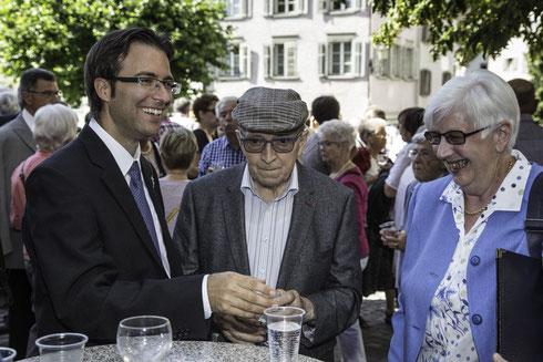 Kennenlernen des neuen Pfarrers der Seelsorgeeinheit Altstätten: Roman Karrer.