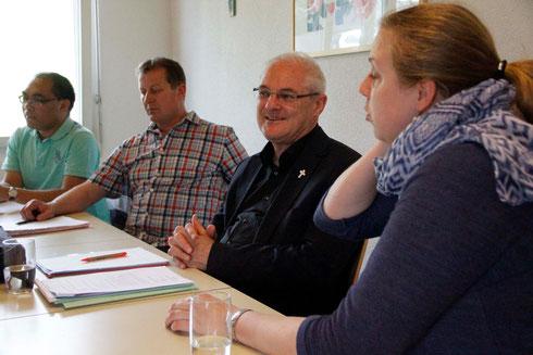 Generalvikar Josef Rosenast ist 2015 als Visitator und Firmspender zu Gast gewesen.